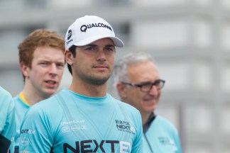 Nelson Piquet Jr (BRA) - NEXTEV TCR Formula E Team during the track walk at 2015 Formula E Championship, Rd3, Punta del Este e-prix, 18 December 2015
