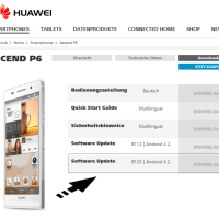 Tutorial - Huawei Ascend P6 erhält Performance Update (P6-U06 V100R001C00B125), keine Installation über OTA!