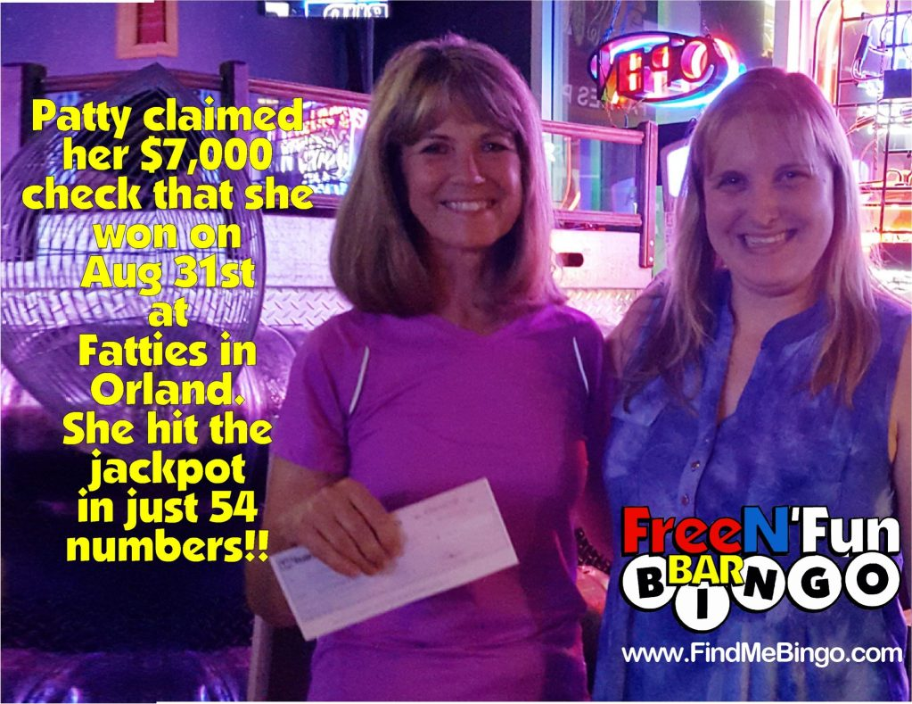 8-31-16 7000 Patty Claiming Check Promo