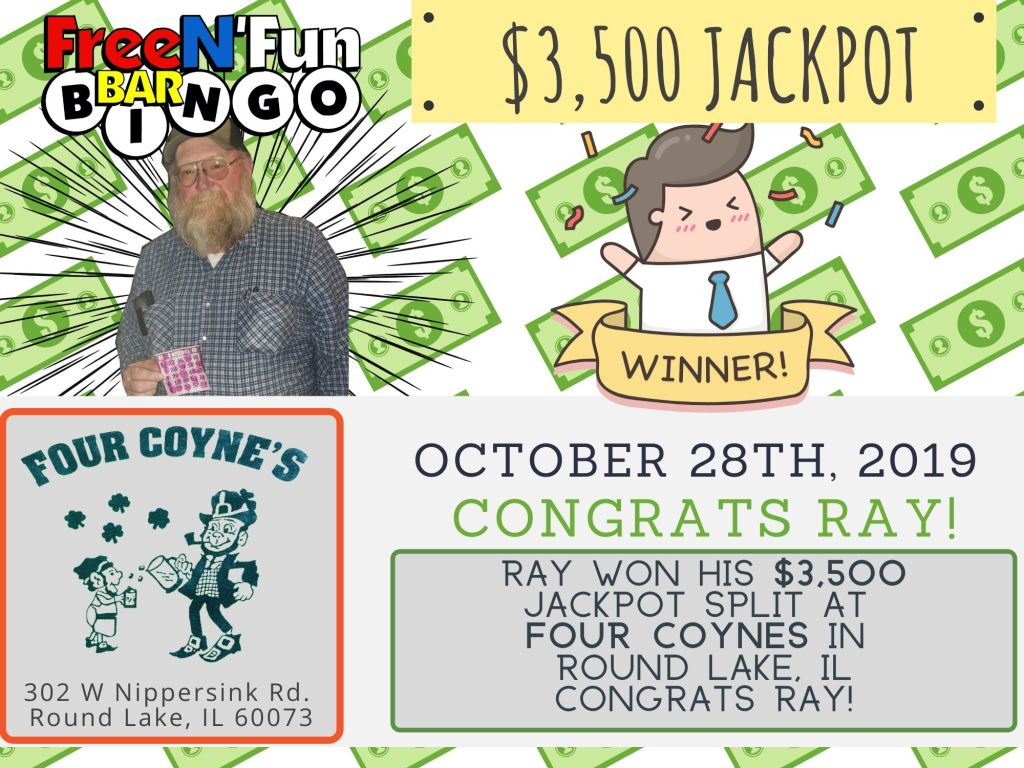 Jackpot Winner 2019 Ray