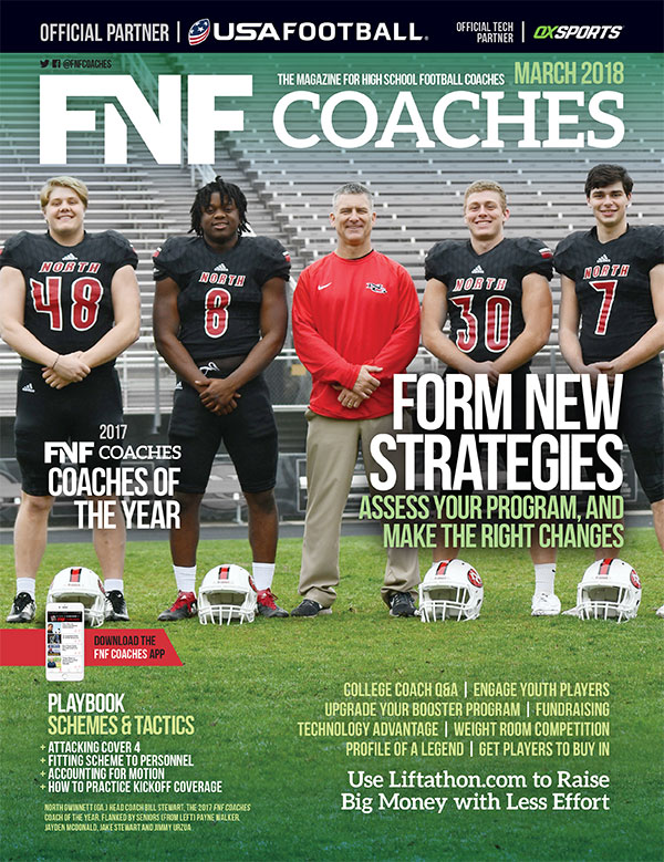 FNF Coaches March 2018