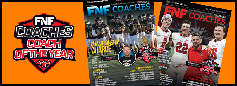 FNF Coaches Coach of the Yer