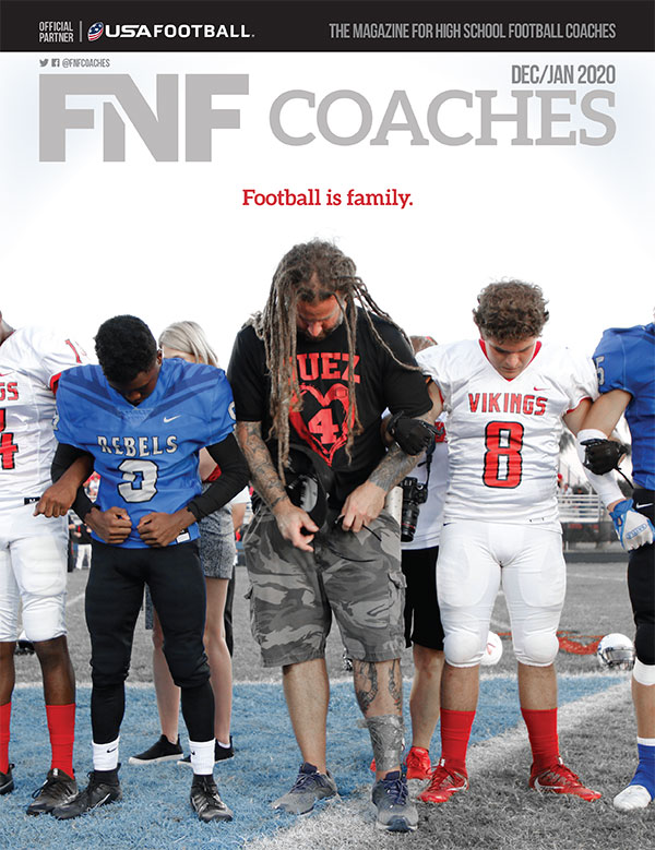 FNF Coaches Dec/Jan 2019 Football Is Family