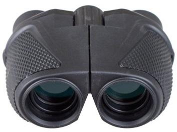Outdoor Waterproof 12x25 Binoculars.Large eyepiece (BAK4, Green lens)