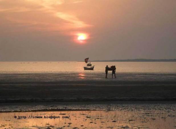 Sea Beach Nijhum Island