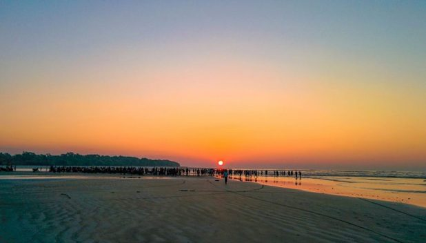 Sunrise-in-Kuakata