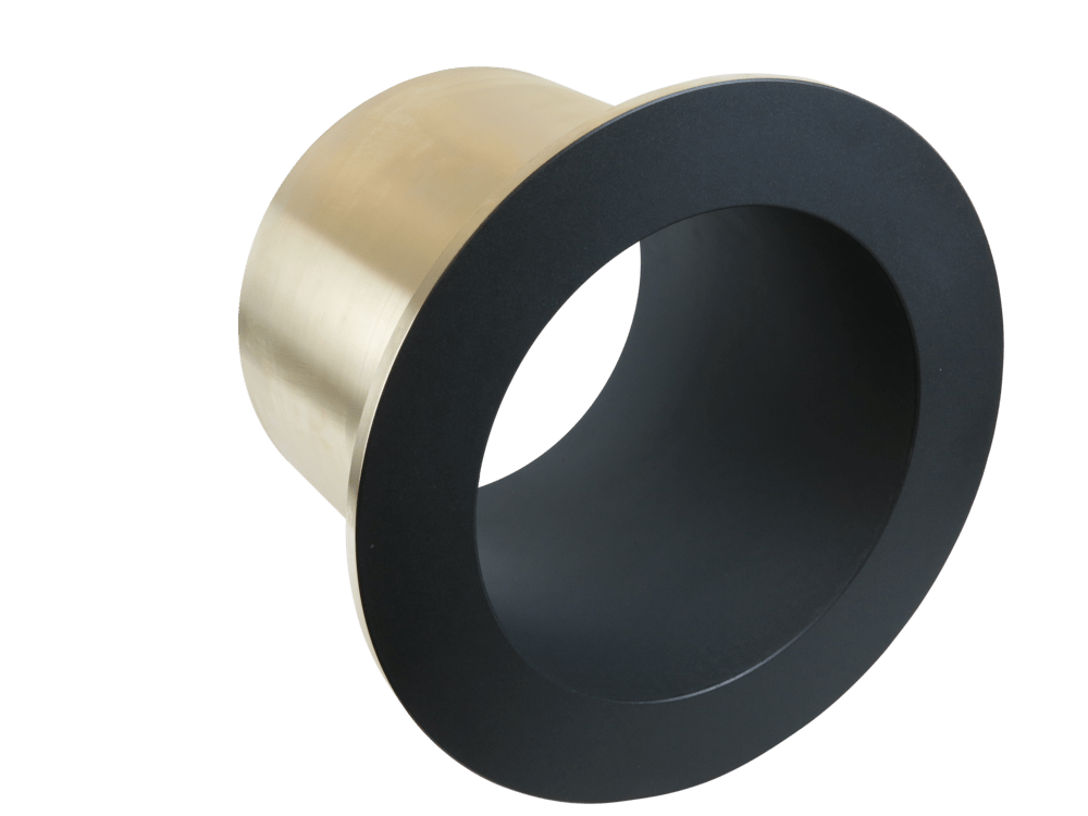 Dry-film lubricated bearing sleeve