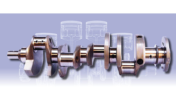 Oleophobic oil-shedding coating on crankshaft by FNG Precision Coatings