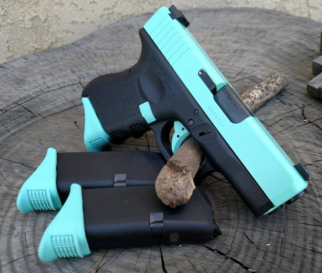 Cerakote coated handgun, by FNG Precision Coating
