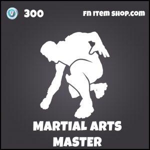 Martial Arts Master fortnite emote