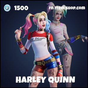 Harley Quinn epic fortnite skin