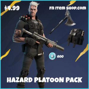Hazard Platoon Pack Fortnite Starter bundle