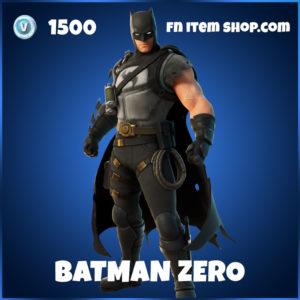 Batman Zero Fortnite