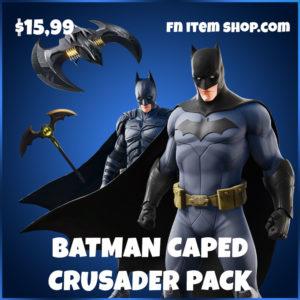 Batman Caped Crusader Pack Fortnite bundle