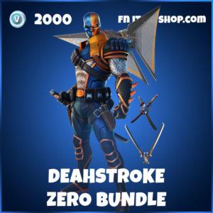 Deathstroke Zero Fortnite Bundle