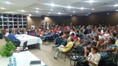 19/09/2017 - Abertura do evento 'PAULO FREIRE EM SETEMBRO', jornada Latina Americana de Luta em Defesa da Educação Pública, Laica, Gratuita e Emancipadora. Rumo ao centenário do educador Paulo Freire.
