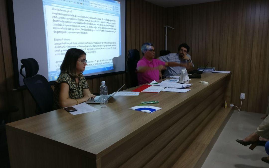 FNPE se reúne em Brasília para discutir orientações e ações para a Conape