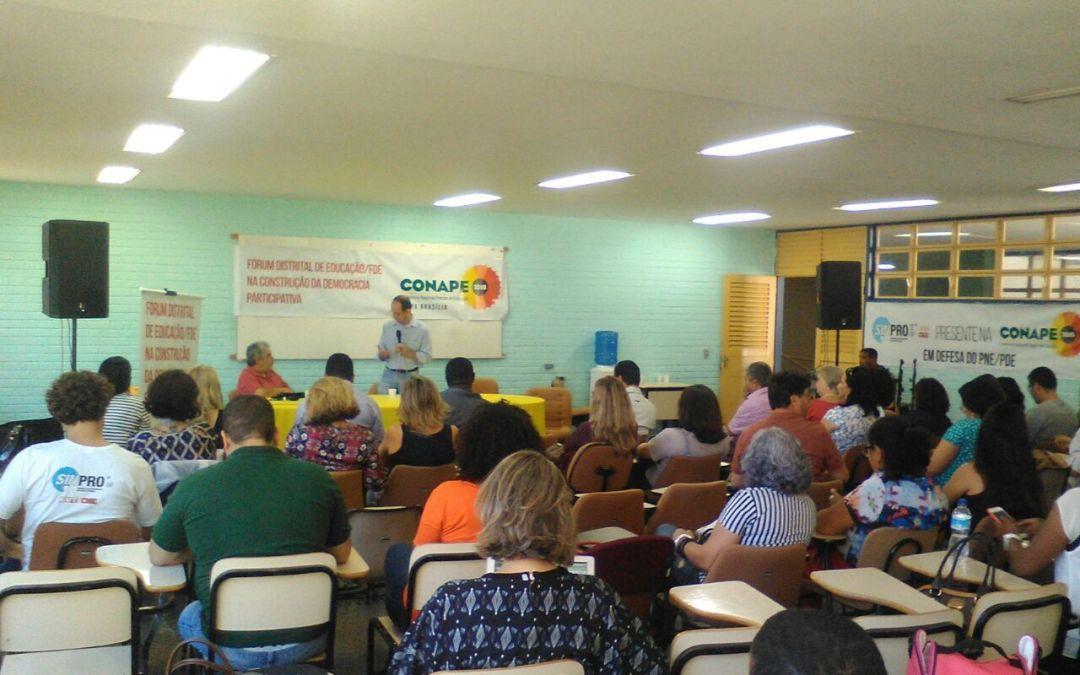[DF] Lançada Conferência Nacional de Educação (CONAPE) – 2018,  etapas preparatórias, no DF