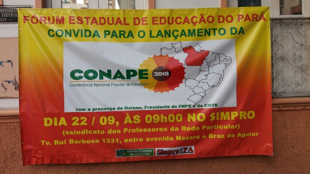 Lançamento Conape em Belém, Pará
