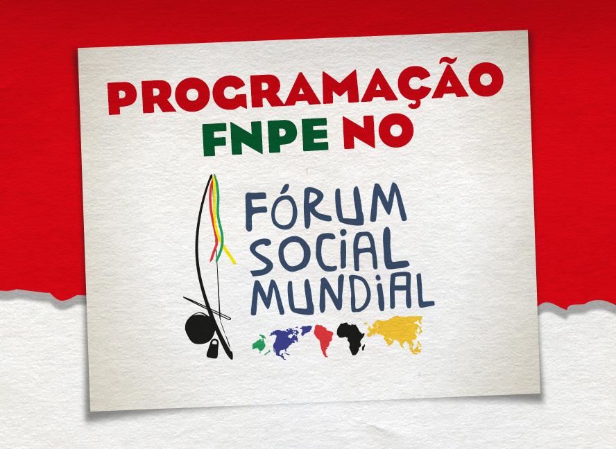 Confira as atividades da 13ª edição do Fórum Social Mundial