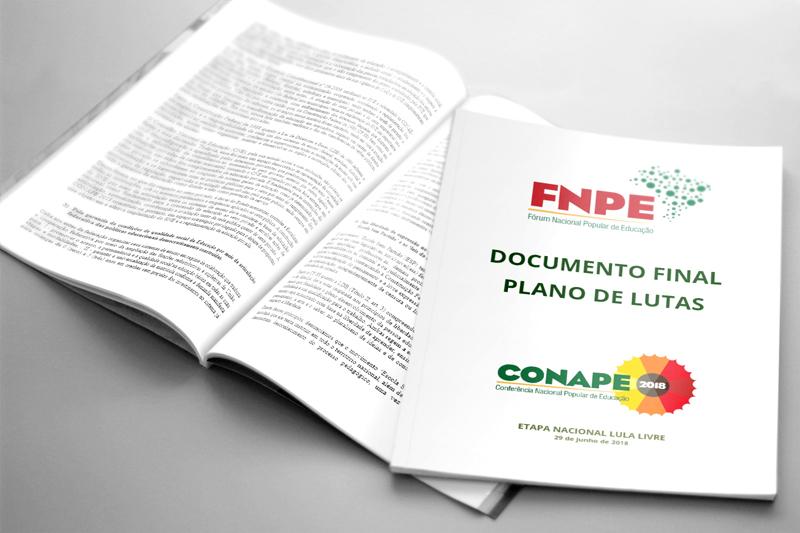 DOCUMENTO FINAL – PLANO DE LUTAS DA CONAPE 2018 está disponível