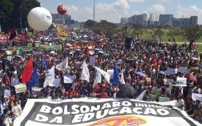 Todos firmes na construção da Greve Geral: contra os cortes dos recursos para a educação e contra a destruição das aposentadorias