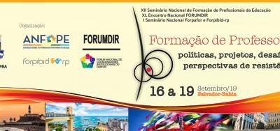 Entidades nacionais lançam Carta de Salvador em repúdio a destruição das políticas públicas educacionais