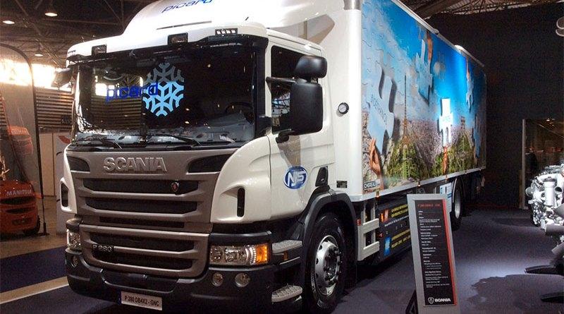 Les camions de livraison de l'entrepôt de Villeneuve vont rouler prochainement pour partie au gaz