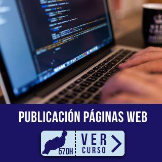 Primer plano de unas manos y un portátil con código html para curso desempleados Confección y publicación de páginas web en Instituto Focan Lanzarote