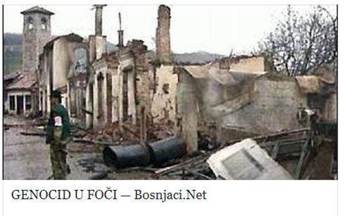 Foča 1992. - 1995. - Prijeka čaršija 1992.