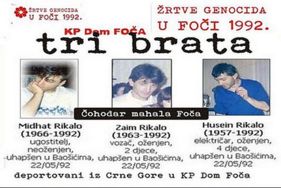Foča 1992. - 1995. - nevine žrtve četničkog iživljavanja