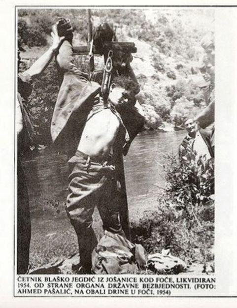 Fočanski četnik uhvaćen 1954.
