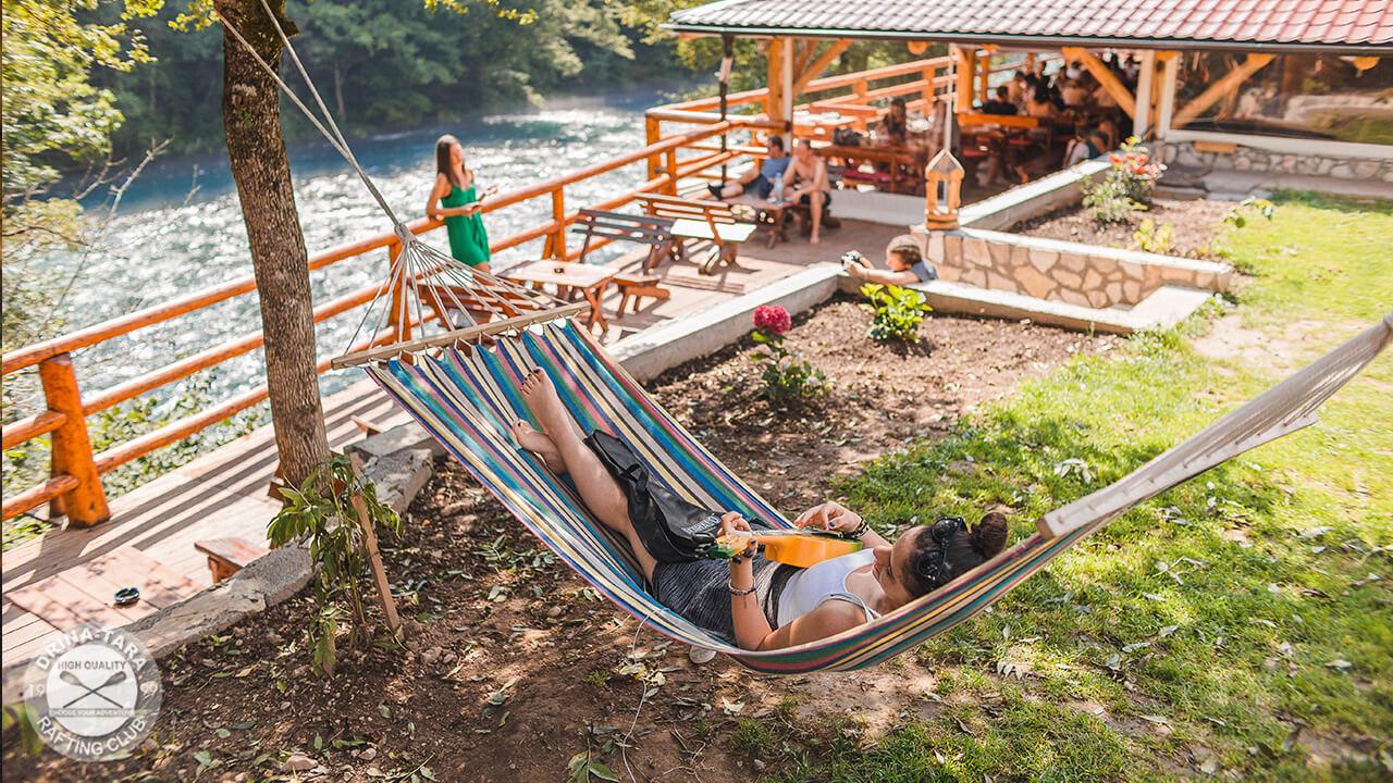 Rafting Camp Drina Tara Tourist Organization Of Foča
