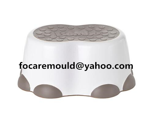 2 component foot stool mold