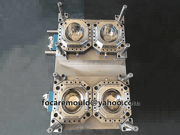 2k snack bowl injection mold