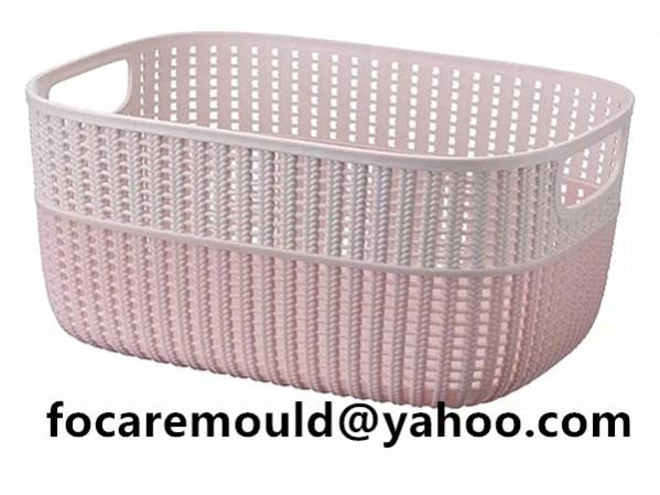 bicolors basket rattan design
