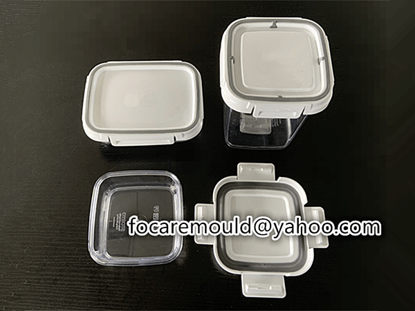crisper rotary mold
