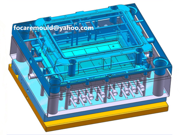 finishing box mold design