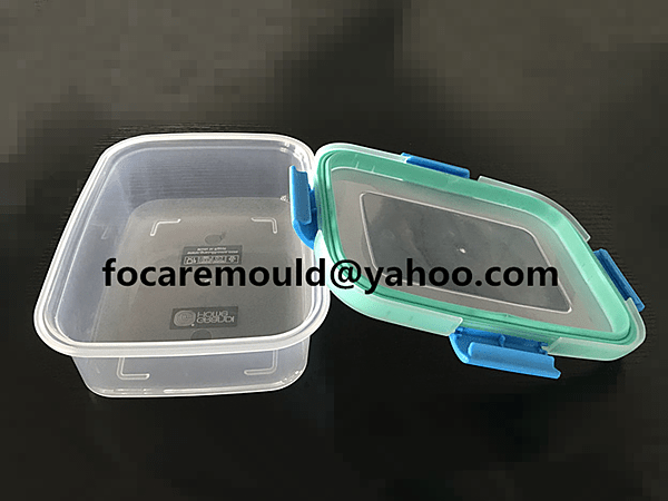 food containers bi injection cap mold