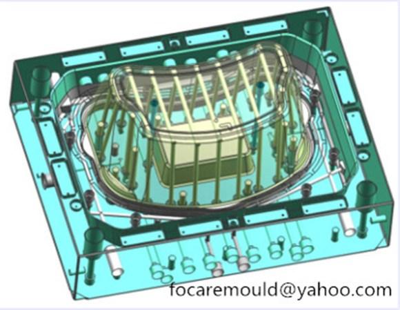 laundry basket mold design
