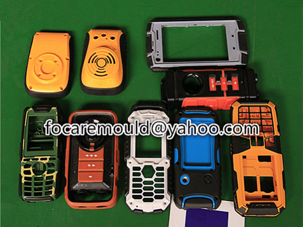 two color phone shell
