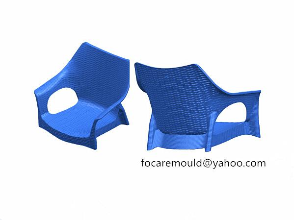 chair mold rattan