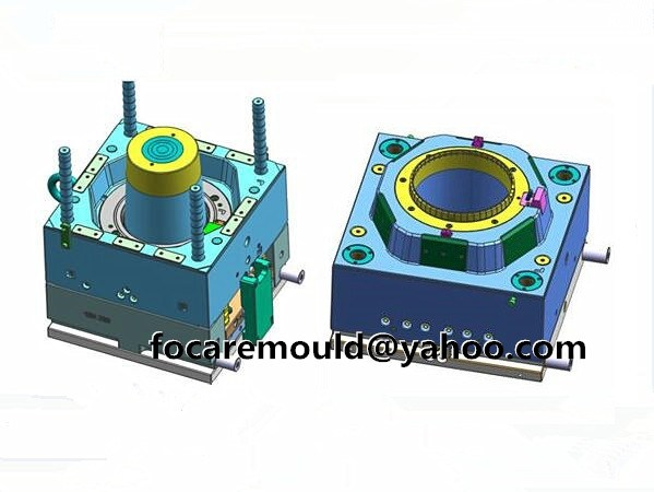 oil packaging bucket mold