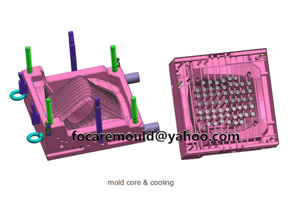 plastic chair mold rattan design