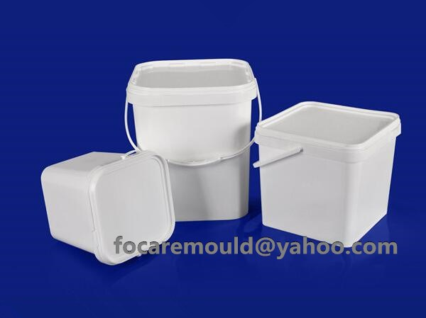 rectangular bucket mold