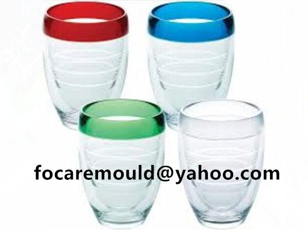 3 color mold beer mug