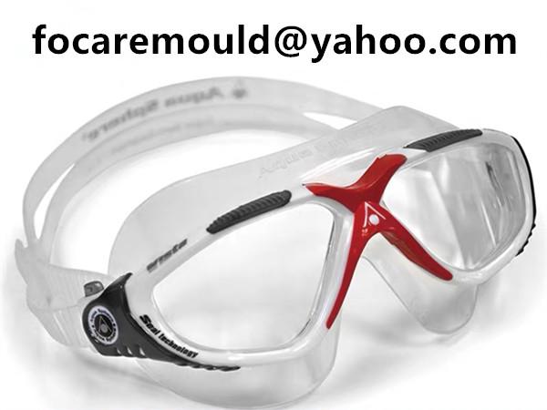 3 shot swimming goggles