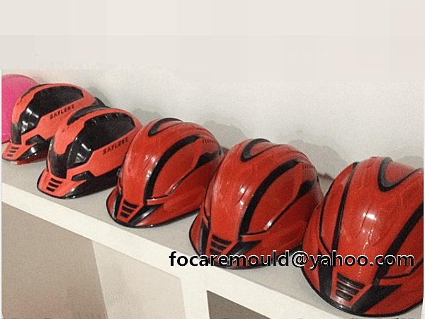 bicolors crash safety helmet mold design