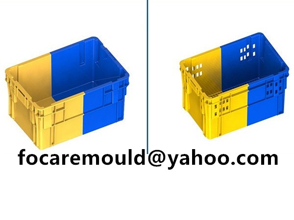 bicolors plastic basket mold