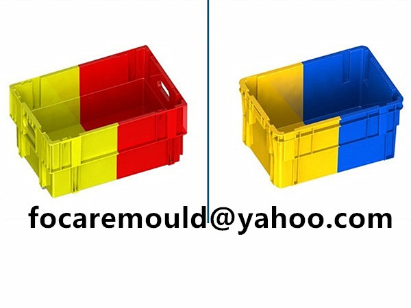 dual colour transport box